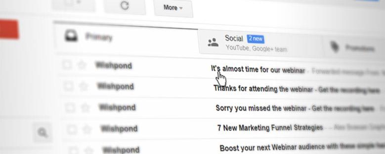 Como conseguir mais participantes em seu webinar a partir da sua lista de e-mails