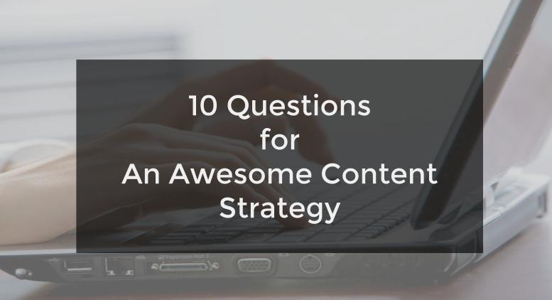 Important Content Marketing Questions