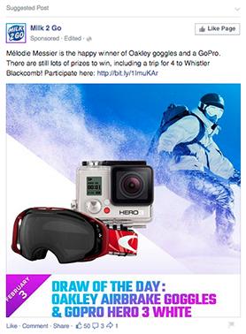 facebook ad wishpond