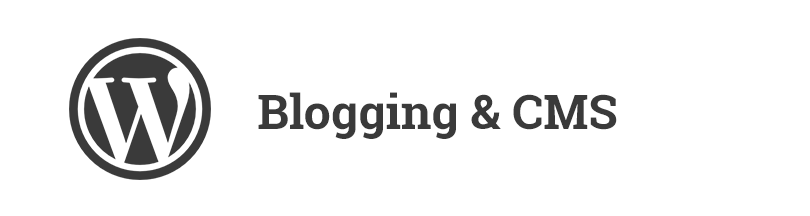 blogging and cms platforms