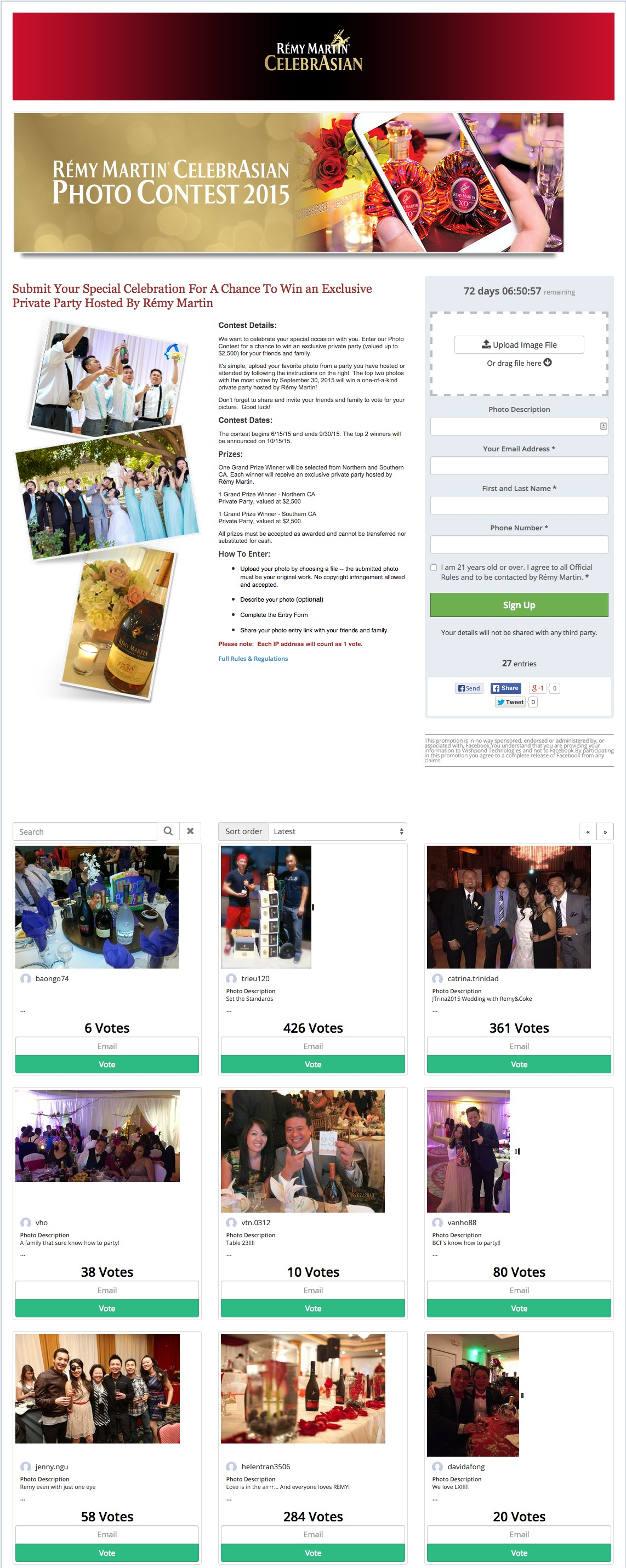 facebook photo competition ideas - 3 Successful petition Examples
