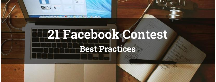 21 Facebook Contest Best Practices