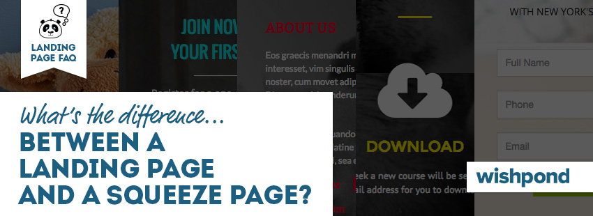 landing page faq what\u0027s the difference between a landing page and alanding page faq what\u0027s the difference between a landing page and a squeeze page?